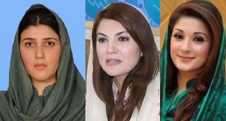 ریحام خان کی کتاب اورعائشہ گلالئی کے پیچھے شریف خاندان ہے ، عمران خان