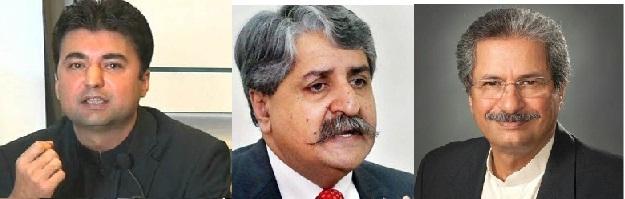 پیپلز پارٹی کے رہنما قمر نوید، وفاقی وزرا شفقت محمود اور مراد سعید کی قومی اسمبلی میں لفظی جھڑپ