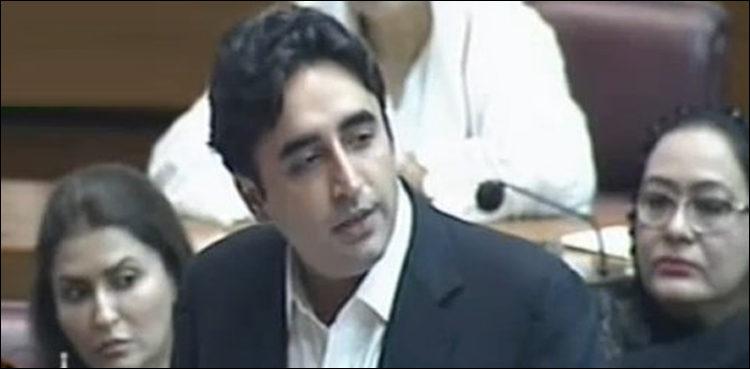 بلاول بھٹوزرداری قومی اسمبلی اجلاس میں شرکت کیلئے کراچی سے اسلام آباد آتے ہوئے فضائی حادثے میں بال بال بچ  گئے