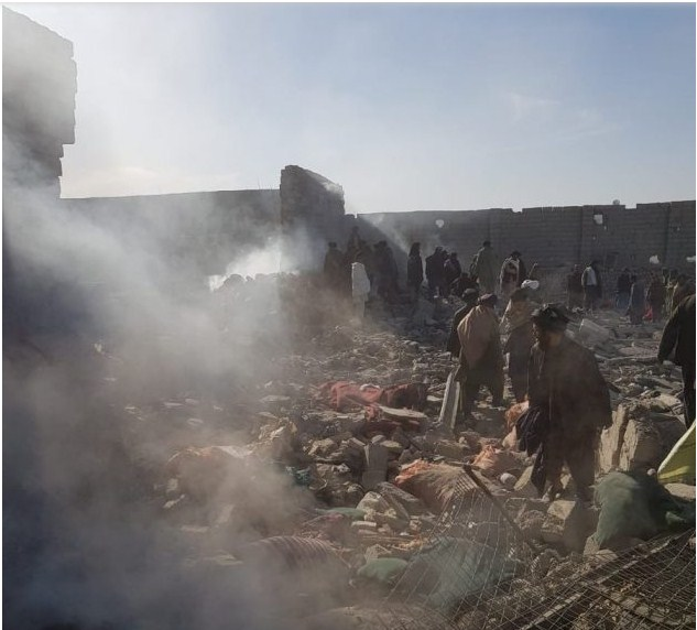 افغان صوبہ ہلمند میں امریکاکی بمباری سےمیاں بیوی بچوں سمیت 16 افراد شہید اورمکانات مکمل تباہ ہو گئے