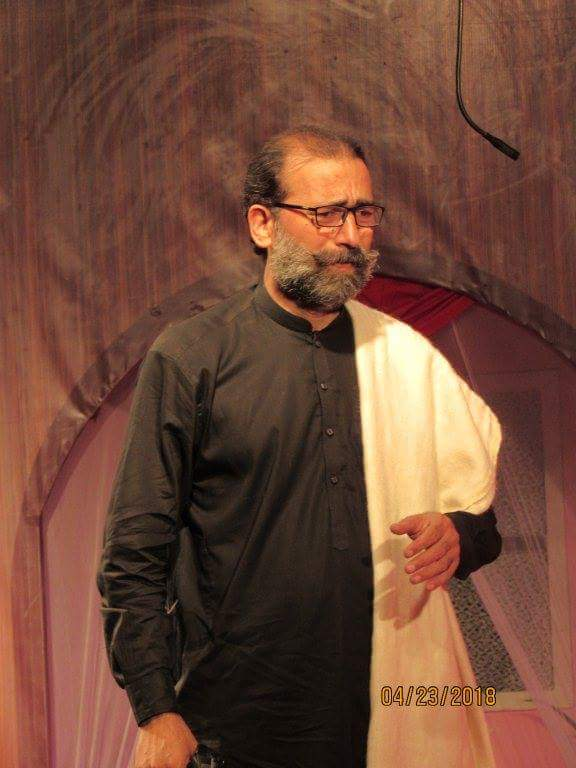 سید مہتاب شاہ کا ایک خوب صورت انداز