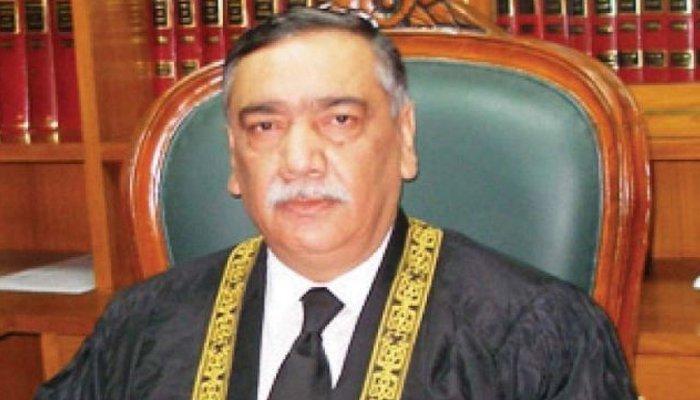 جسٹس آصف سعید کھوسہ پاکستان کے 26 ویں چیف جسٹس بن گئے