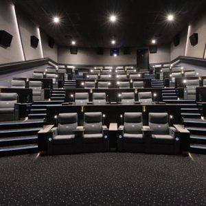 وی او ایکس سنیما کے ہال کا منظر