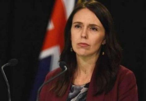 نیوزی لینڈ کی وزیراعظم جیسیکا آرڈن مسجد میں فائرنگ کے واقعے پرپریس کانفرنس سے خطاب کررہی ہیں
