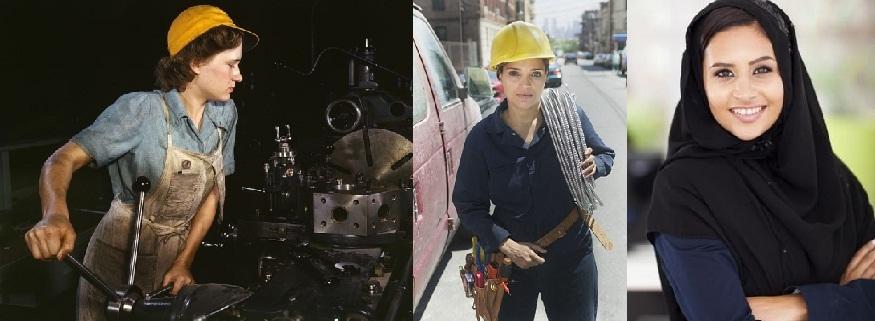عرب ہو، ایشیا یا پورپ، دنیا بھر کی خواتین محنت و مشقت میں مرد مزدوروں سے پیچھے نہیں