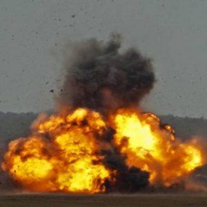 دھماکہ خیز مواد موٹر سائیکل پر نصب تھا