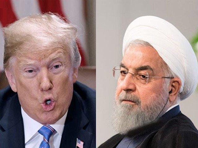 ایران غلطی نہ کرے ، امریکی صدر ڈونلڈ ٹرمپ کی ایرانی صدر حسن روحانی کوہدایت