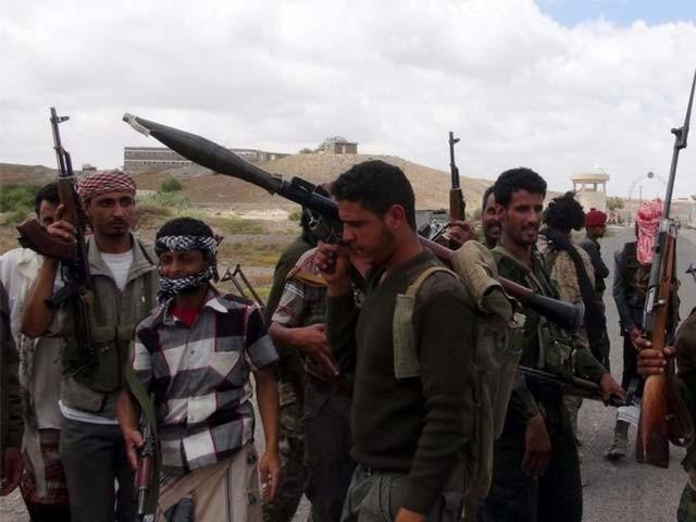 یمن: اتحادی فوج کے طیاروں نے بمباری کرکے40حوثی ہلاک اورمتعدد ٹھکانے تباہ کردیے
