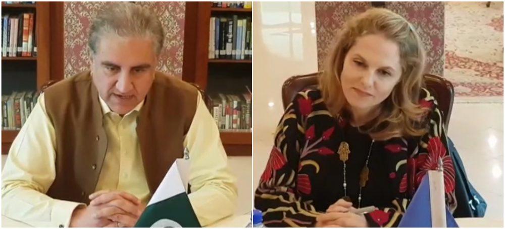 ارد ن کی شہزادی سارہ زید کی دفتر خارجہ وزیر خارجہ مخدوم شاہ محمود قریشی سے ملاقات، ملک میں نادار اور کمزور طبقات کے خوراک اور آبی تحفظ سے متعلق امور پر تبادلہ خیال