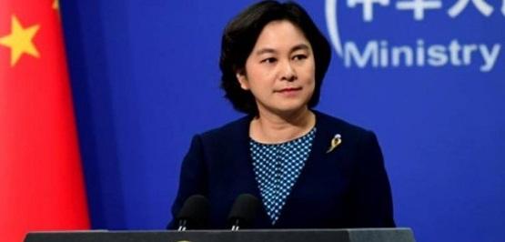 چین وزارت خارجہ کی ترجمان سفارت کاروں کے خلاف امریکی اقدامات سے آگاہ کررہی ہیں