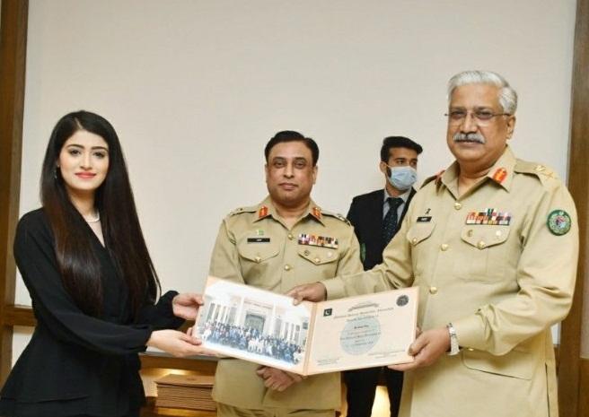 مجھے پاکستان کی افواج پر فخر ہے۔ میں ریکارڈ قائم کرنا اور بہت کچھ کرنا چاہتی ہوں انیقہ نثار