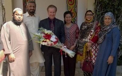 """صف امین فاروقی نے 1999 کے ایشیاء پیسیفک ایونٹ """"نیو میلینیم (کولالمپور، ملائشیا) میں شرکت کا اعزاز حاصل کیا"""