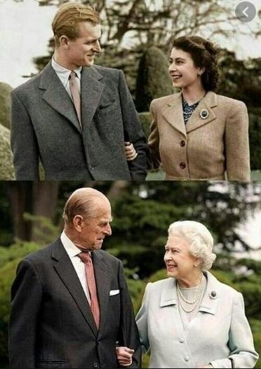 برطانیہ کی ملکہ الزبتھ کے ساتھ پرنس فلب نے سات دہائیوں پر محیط ازدواجی زندگی گزاری جن میں سے 69 سال حکمرانی کے تھے جو برطانیہ کی تاریخ میں طویل ترین حکمرانی کا عرصہ ہے