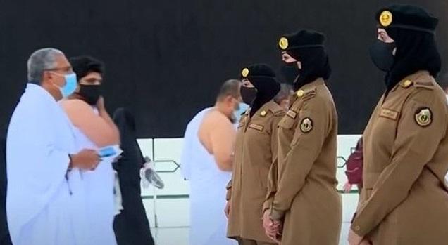 مسجد الحرام میں خواتین سکیورٹی اہلکار تعینات 'زائرین کی مدد ان کی ذمہ داری ہوگی